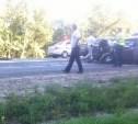 В лобовом столкновении на трассе «Крым» погиб водитель отечественной «семёрки»