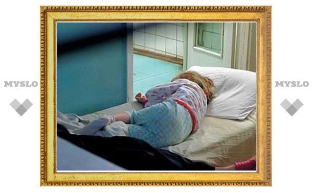 Под Тулой из окна выпала 2-летняя девочка