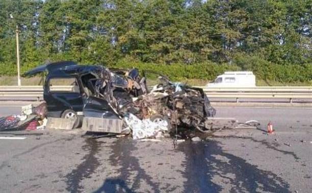 ДТП с фурой на М-4: двое погибли, четверо пострадали