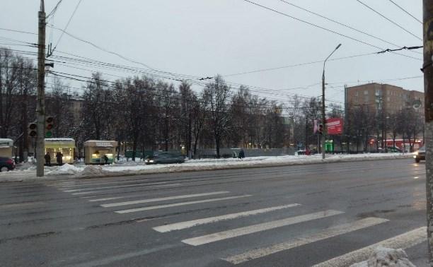 В Туле на проспекте Ленина отключат светофоры