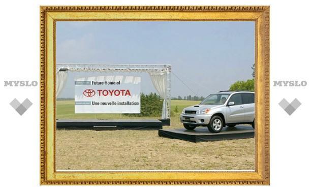 Инвесторы испугались дефекта в автомобилях Toyota