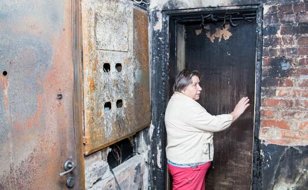 Коммунальная война: Жители винят управляющую компанию в пожаре в подъезде