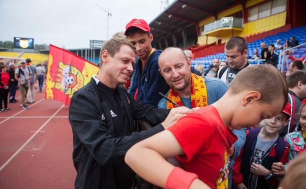 Болельщики – «Арсеналу»:  «Ждем от вас побед, не подведите нас!»