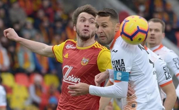 «Арсенал» и «Урал» сыграли вничью: 0:0