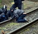 В Кимовске на глазах у полицейского воровали рельсы