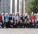 Школьники отправились в Страну знаний на трамвае