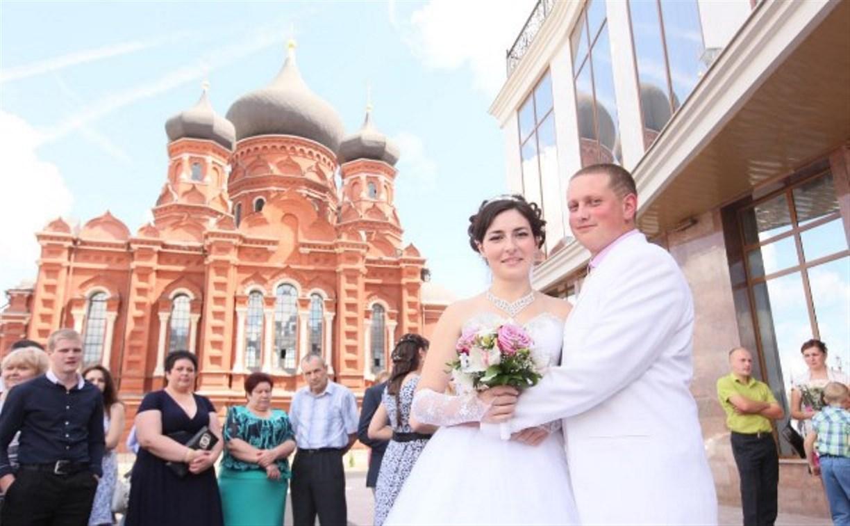 Тульские загсы предлагают женатым людям заново сыграть свадьбу