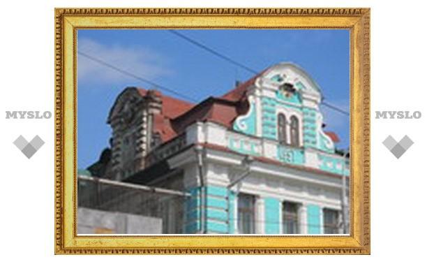 Обратная сторона зданий Тулы