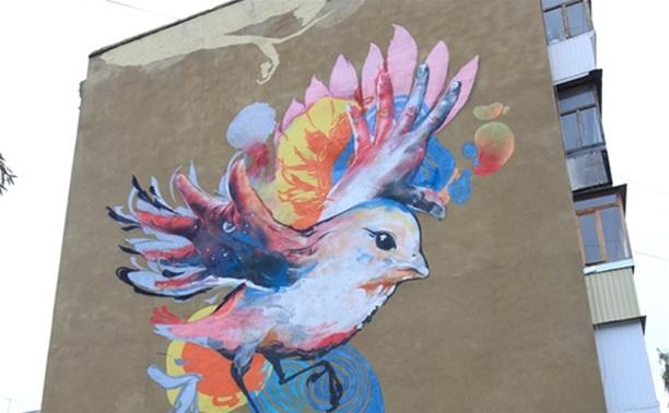 В Туле продолжается конкурс на лучшее граффити