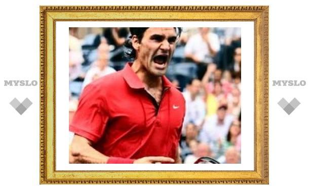 Роджер Федерер в пятый раз подряд выиграл US Open