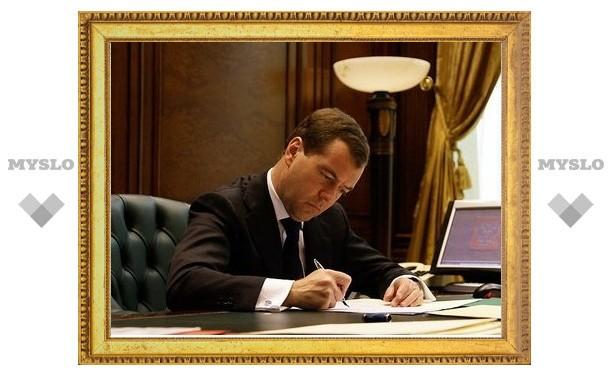 Медведев может наказать тульских чиновников за медоборудование