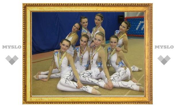 Тульские гимнастки завоевали золото