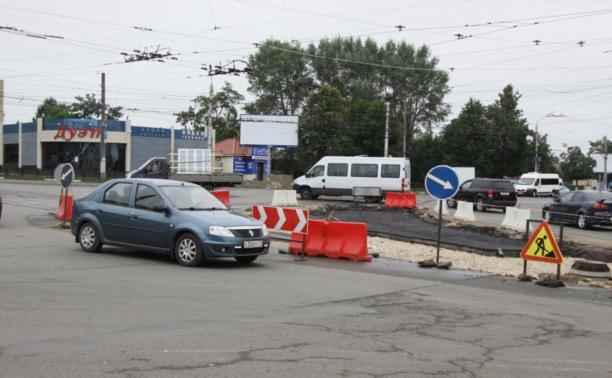 Ремонт трамвайных путей в Пролетарском районе завершат к 1 сентября
