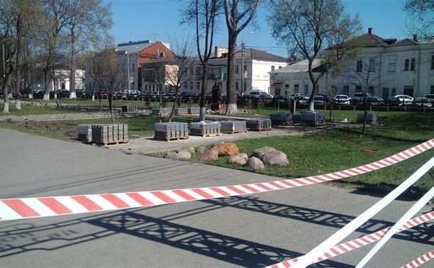 В Кремлевском сквере началась масштабная реконструкция