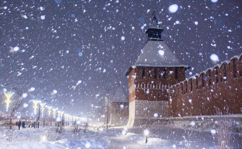 Высота снежного покрова в Туле достигла 31 сантиметра