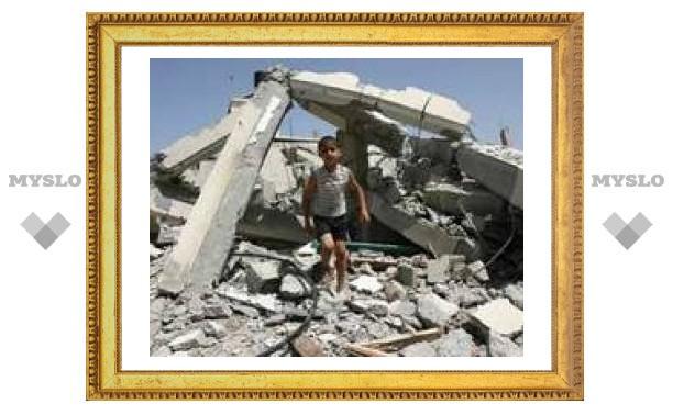 Израиль нанес удар по лагерю беженцев в Газе