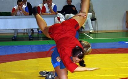 Тульские самбистки стали призерами Спартакиады