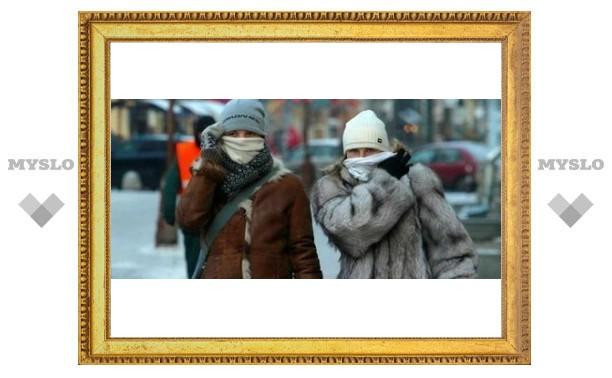 Туляков ожидает невиданная метель и мороз