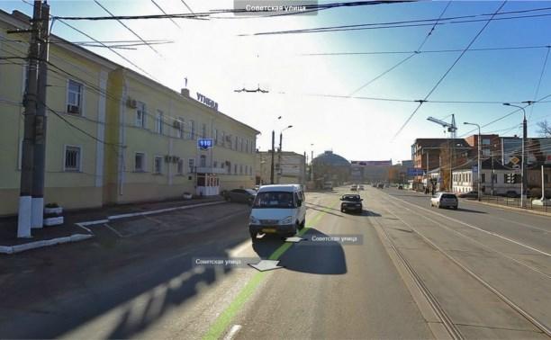 В Туле рядом со зданием УГИБДД столкнулись «Ауди» и трамвай