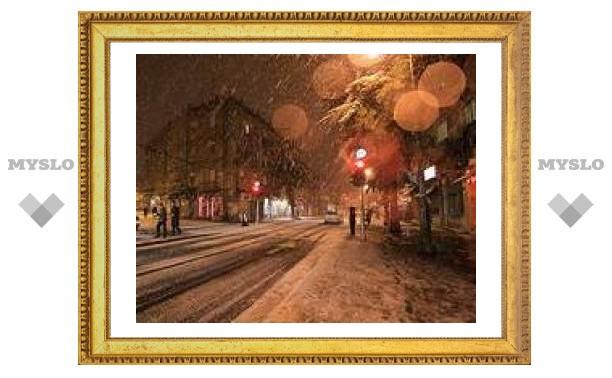Погода в Туле: вечером дождь, ночью снег