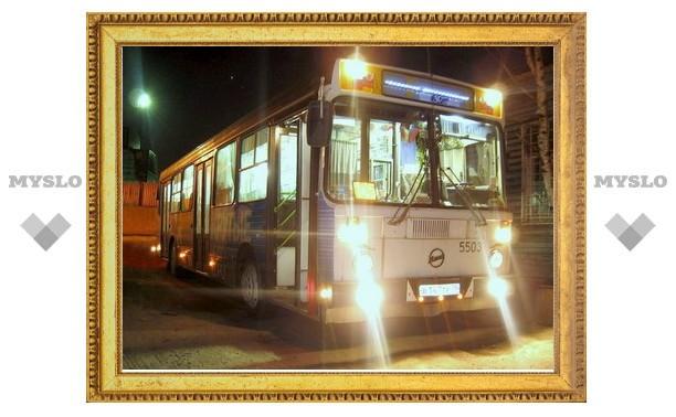 С 24 ноября общественный транспорт в Туле будет ходить до 00:30