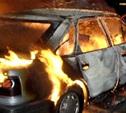 Ночью 8 сентября в Заокском районе сгорел автомобиль