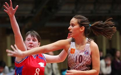 Юные тульские баскетболистки завершили первенство страны