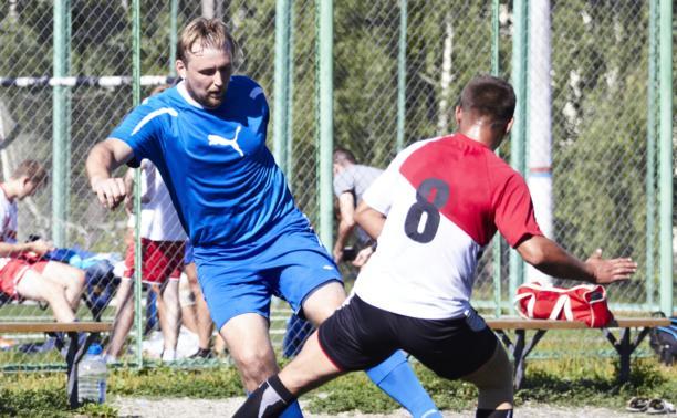 В Туле состоялись очередные матчи в Кубке Лиги любителей футбола