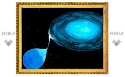 Термоядерный взрыв двойной звезды осветил туманность
