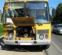 Под Тулой перевернулся автобус со школьниками