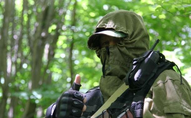 Бойцы ОМОН «вышли в поля» под Алексином