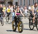 В семейном велопараде приняли участие сотни туляков. Фоторепортаж