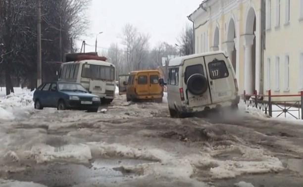 Узловскую дорогу прославили в видео на YouTube