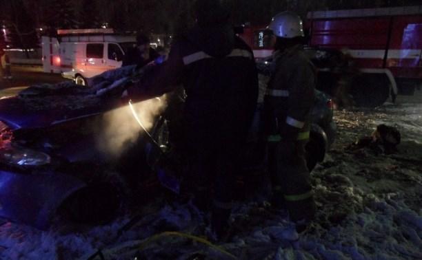 Водитель «Шевроле», разбивший машину возле кремля, был пьян