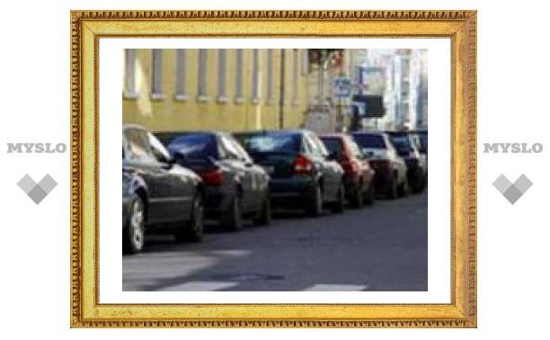 В Туле штрафуют за неправильную парковку