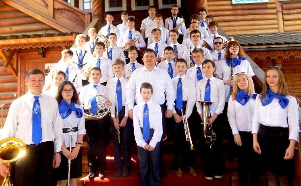 Тульский сводный детский духовой оркестр отправится на фестиваль в Москву