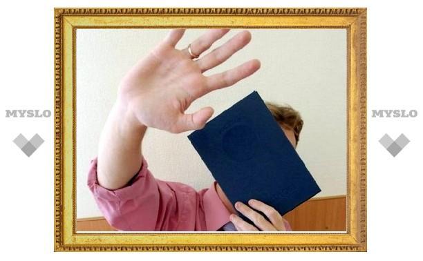 Депутат Тульской областной Думы представил поддельный диплом?
