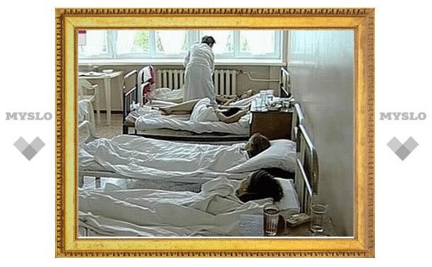 В Тульской области растёт количество кишечных инфекций