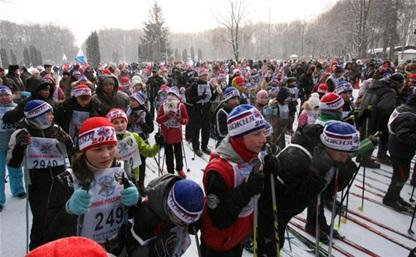 В Туле проходит «Лыжня России – 2014»