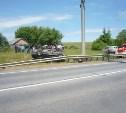 На трассе в Чернском районе перевернулся «Ленд Крузер»