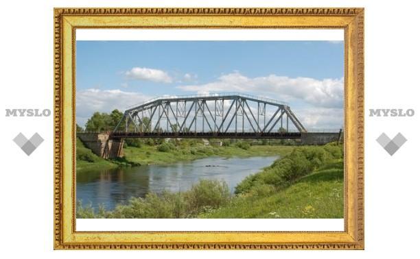Ремонт моста на въезде в Белев закончится в октябре