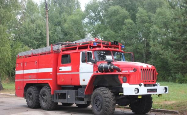 Туляки подарили Керчи пожарный автомобиль
