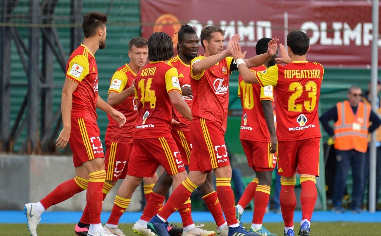 «Сахалин» – «Арсенал»: Денисов забил гол – 0:2