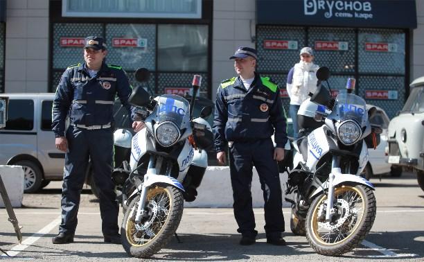 За неделю в Тульской области задержали 26 мотоциклистов-нарушителей