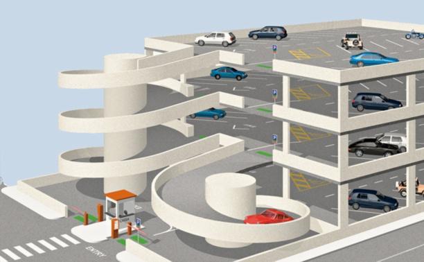 В Туле появятся три многоуровневые парковки