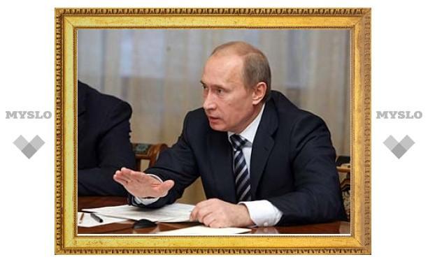 Путин снял запрет на поставки импорта в Чечню