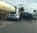 В Туле из-за ДТП на ул. Кутузова собралась пробка