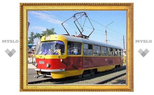 В выходные трамваи в Туле сменят схему движения