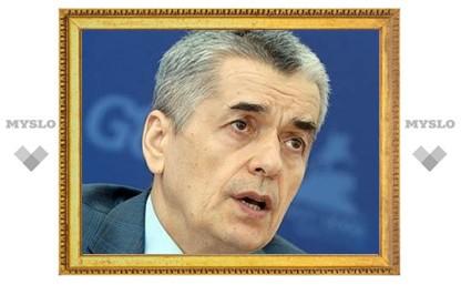 Онищенко предупредил об опасности простуды на митингах