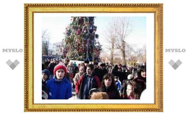Новый год у главной елки